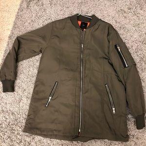 F21 bomber jacket